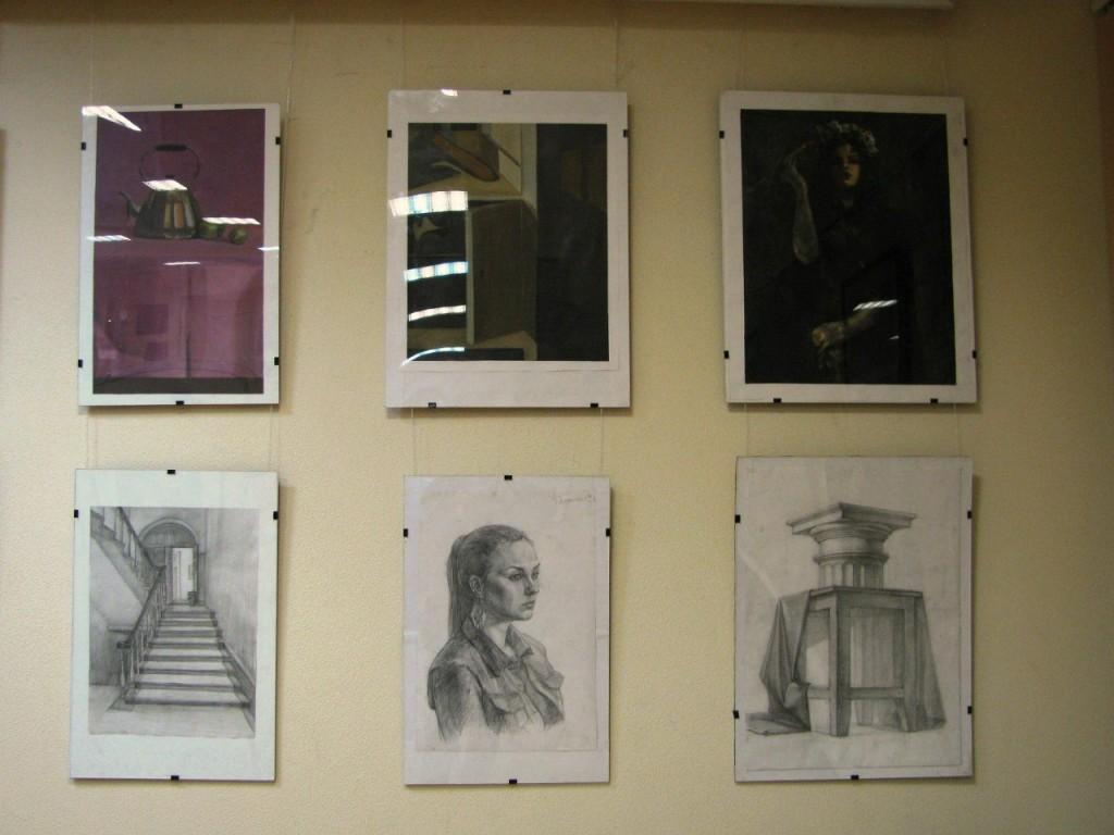 Выставки дипломных работ кафедры изобразительного искусства реставрации 18