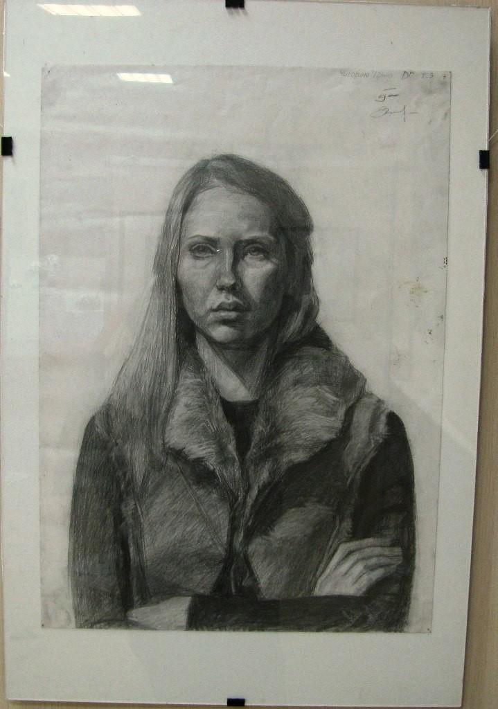 Выставки дипломных работ кафедры изобразительного искусства реставрации 19