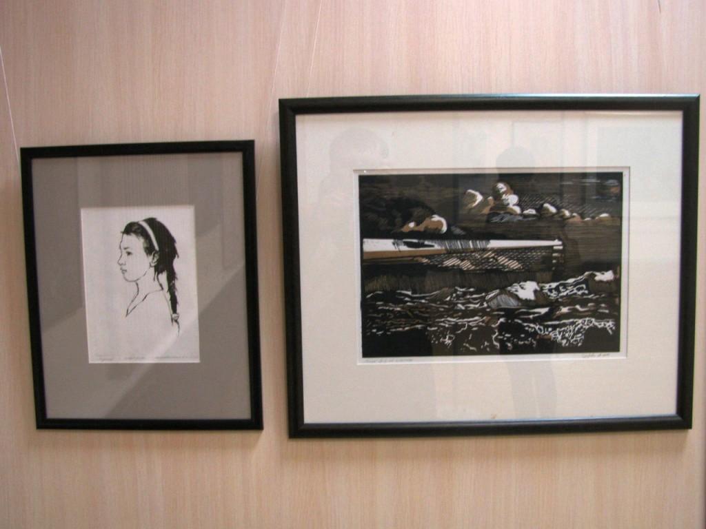 Выставки дипломных работ кафедры изобразительного искусства реставрации 20
