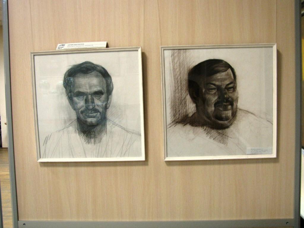 Выставки дипломных работ кафедры изобразительного искусства реставрации 21