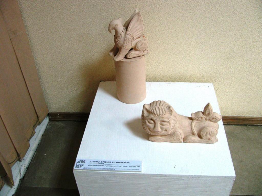 Выставки дипломных работ кафедры изобразительного искусства реставрации 25