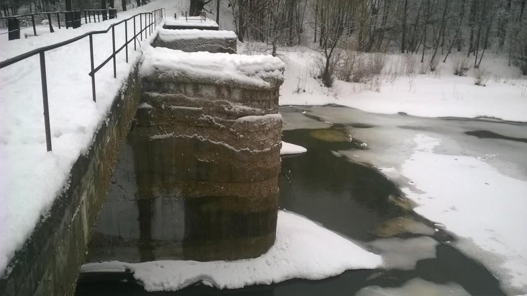 Г.Киржач старая плотина в парке 05