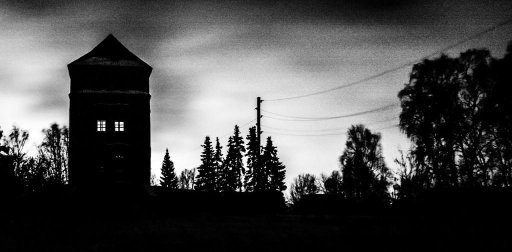 Жуткая водонапорная башня в посёлке Гигант, Владимирская обл от Александра Каширцева