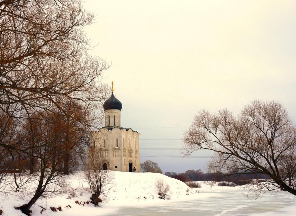 Зимние пейзажи в Боголюбово 01