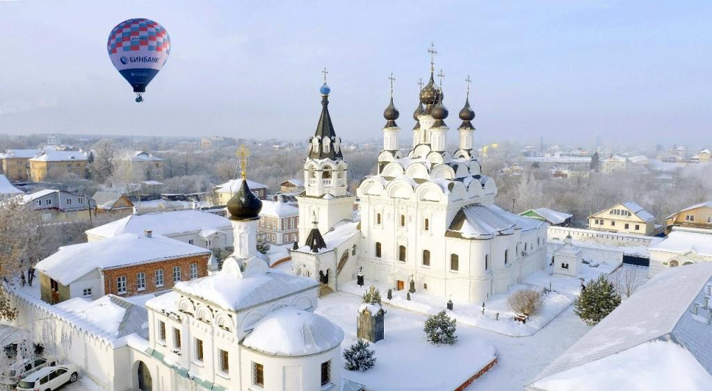 Зимний Муром с высоты от Алексея Федотова