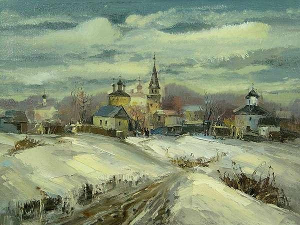 Иван Иванович Агеев - Зима в Гороховце