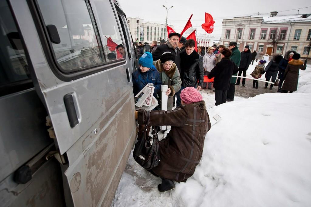 КПРФ. Всероссийская акция протеста 6 февраля 02