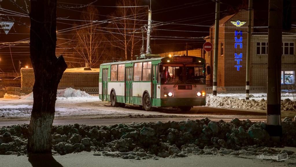 Ковровский троллейбус
