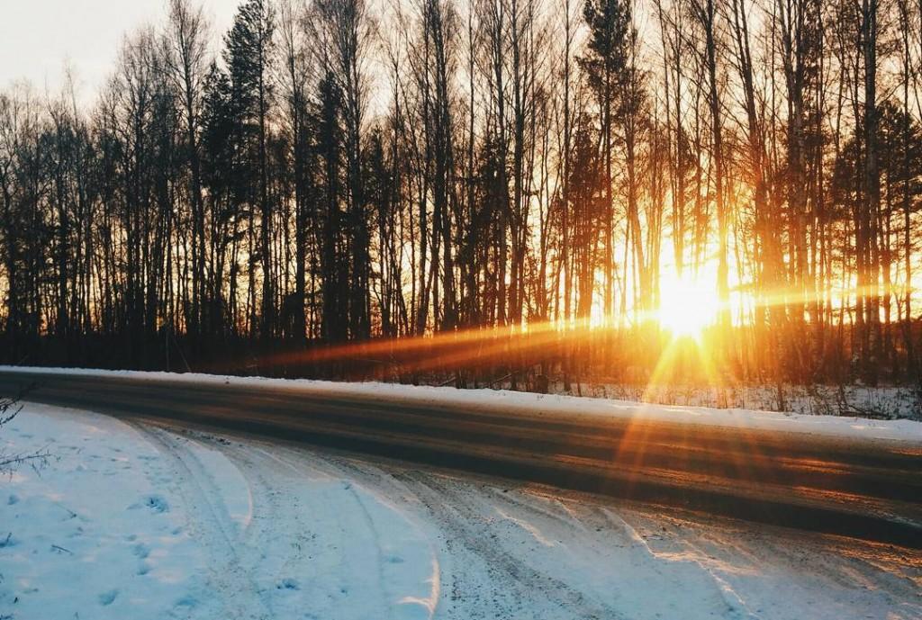Красивое утро в Киржаче