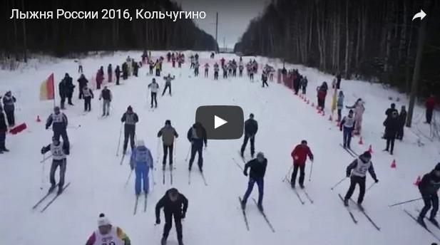 Лыжня России в Кольчугино