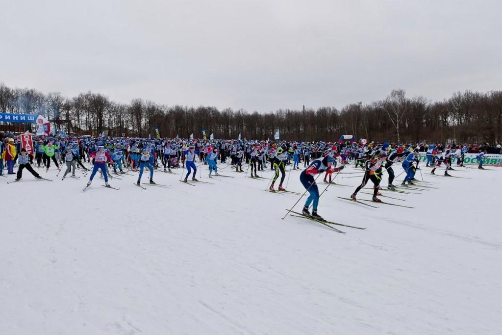 Лыжня России 2016, Владимир 03