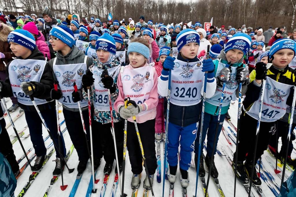 Лыжня России 2016, Владимир 10