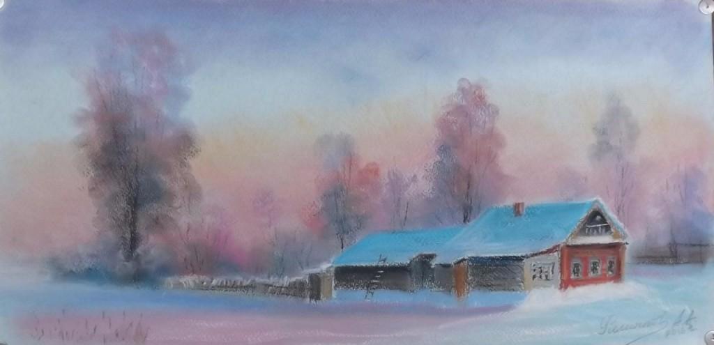 Мороз (д. Березники). Автор - Александр Филиппов.