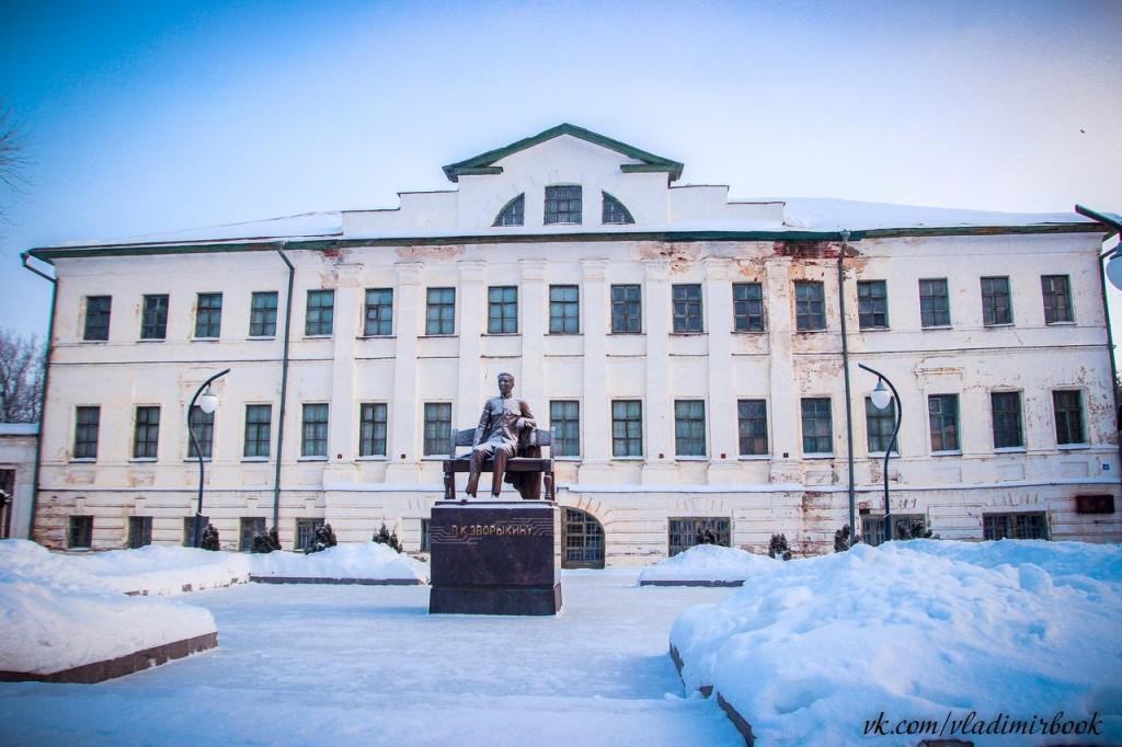 Муром, архитектура, зима