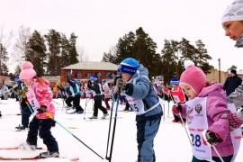 Муром. Лыжня России 2016 Самая юная участница