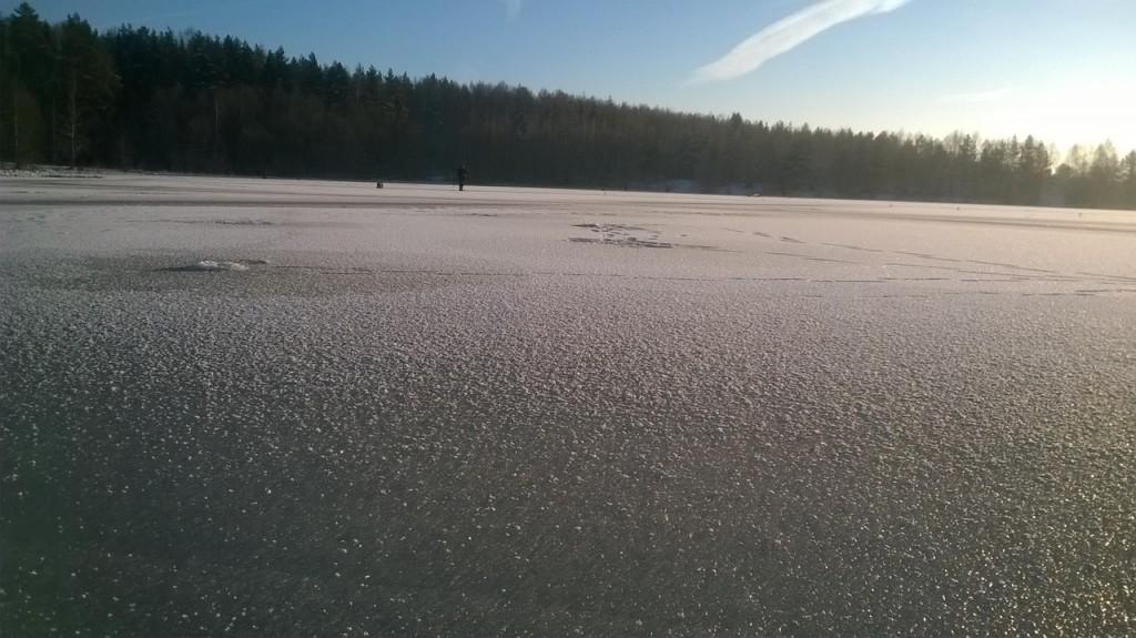 На рыбалке на озере в Тельвяково с Павлом Шубиным 05