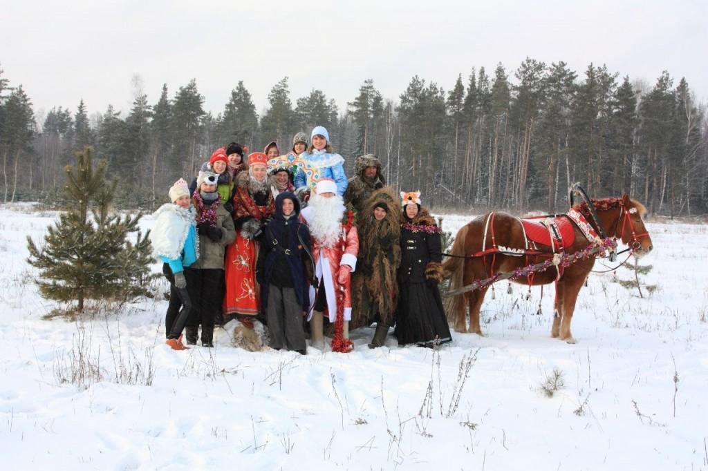 Новогодний праздник для детей и взрослых 04