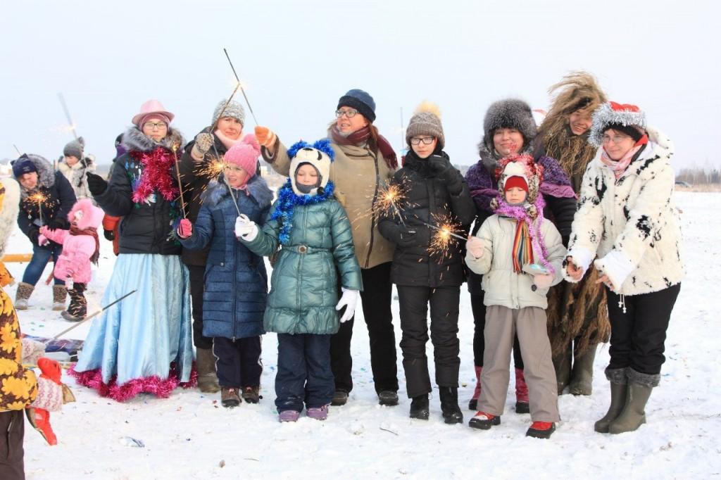 Новогодний праздник для детей и взрослых 05
