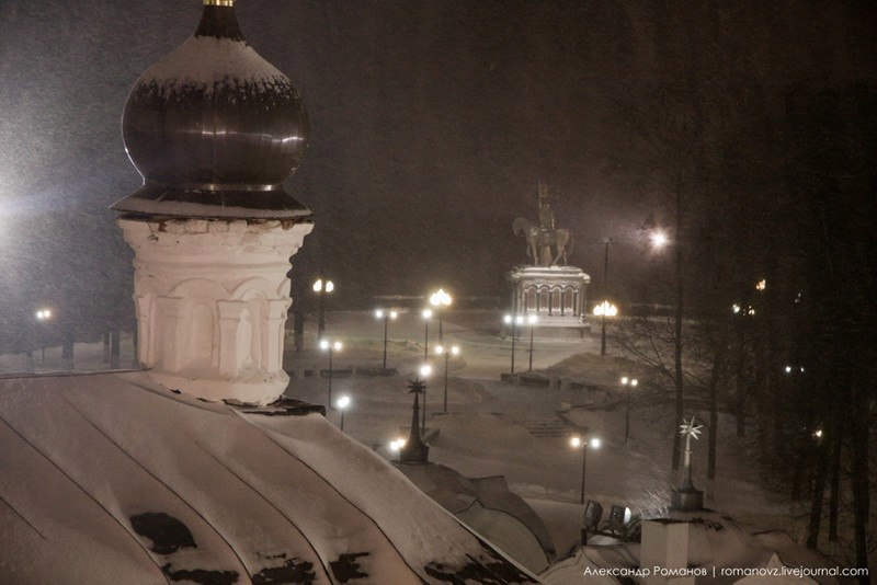 Один из самых лучших видов на центр Владимира, – с Успенской колокольни 03