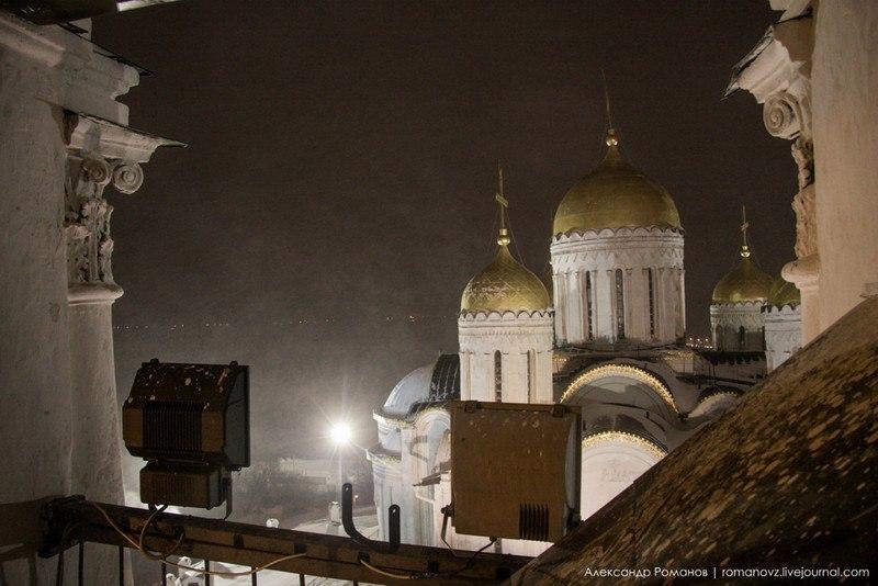 Один из самых лучших видов на центр Владимира, – с Успенской колокольни 06