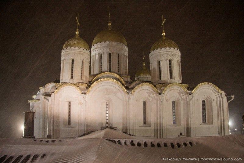 Один из самых лучших видов на центр Владимира, – с Успенской колокольни 07