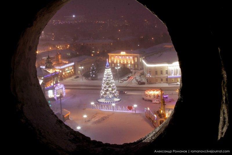 Один из самых лучших видов на центр Владимира, – с Успенской колокольни 08