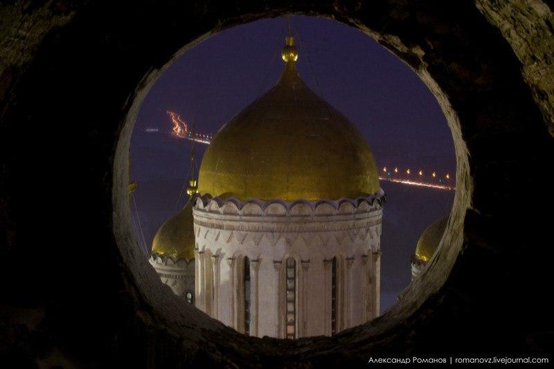Один из самых лучших видов на центр Владимира, – с Успенской колокольни 09
