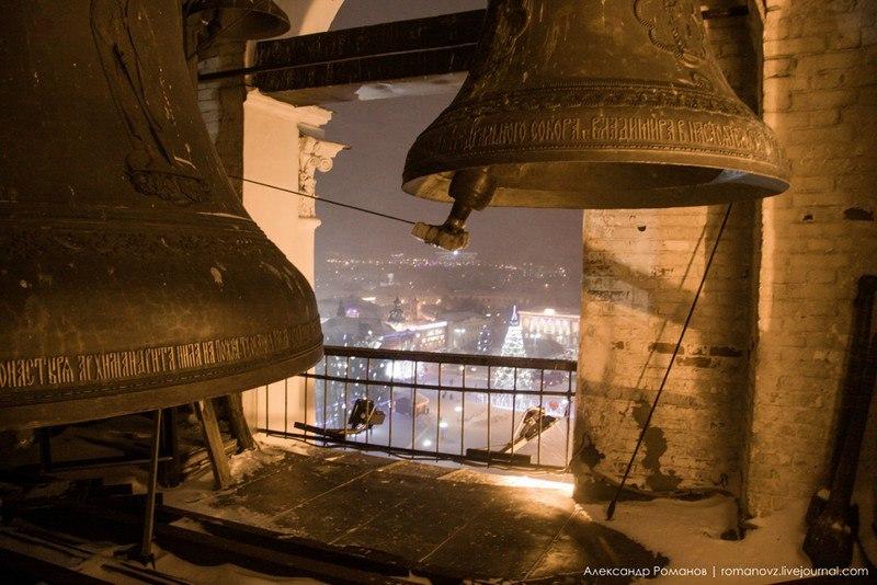 Один из самых лучших видов на центр Владимира, – с Успенской колокольни 10