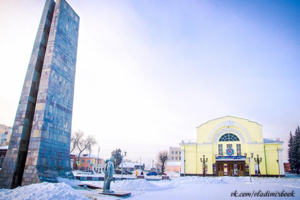 Площадь победы и ДК им. 1100-летия г. Мурома