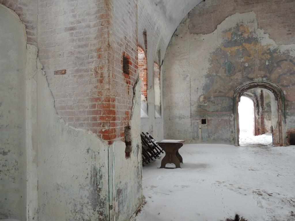 Поездка в Заброшенный Храм в Семёновке 06