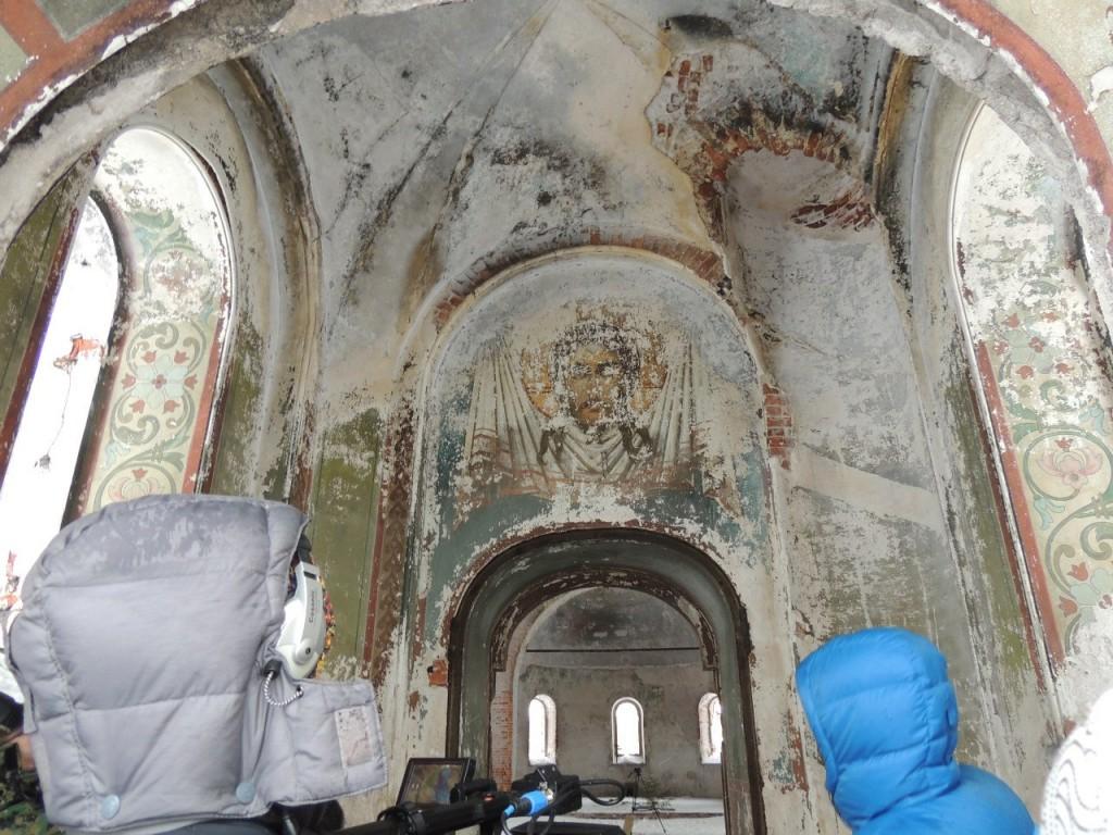 Поездка в Заброшенный Храм в Семёновке 11
