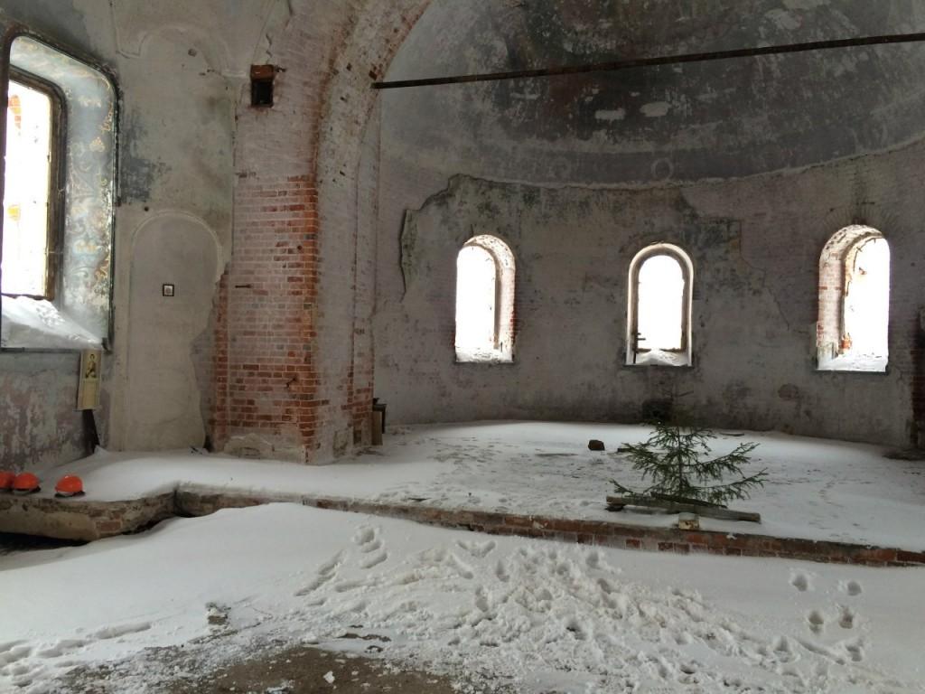 Поездка в Заброшенный Храм в Семёновке 21