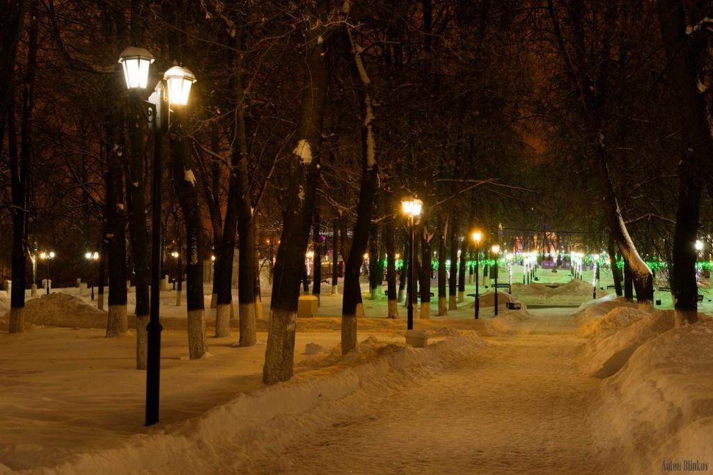Прогулка по Владимирскому парку в выходные
