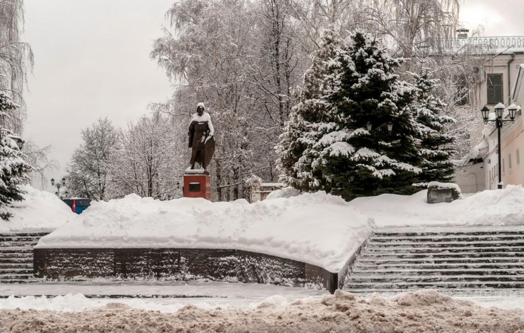 Прогулка по январскому Владимиру с Борисом Пучковым 08