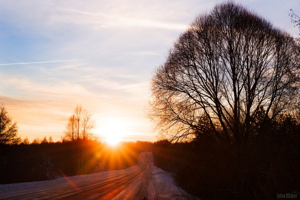 Рассвет на пути