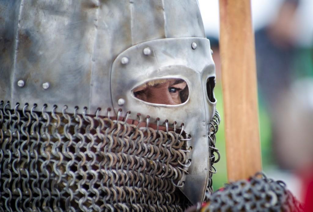 Реконструкция битвы татаро-монголов с русичами в Боголюбово 02