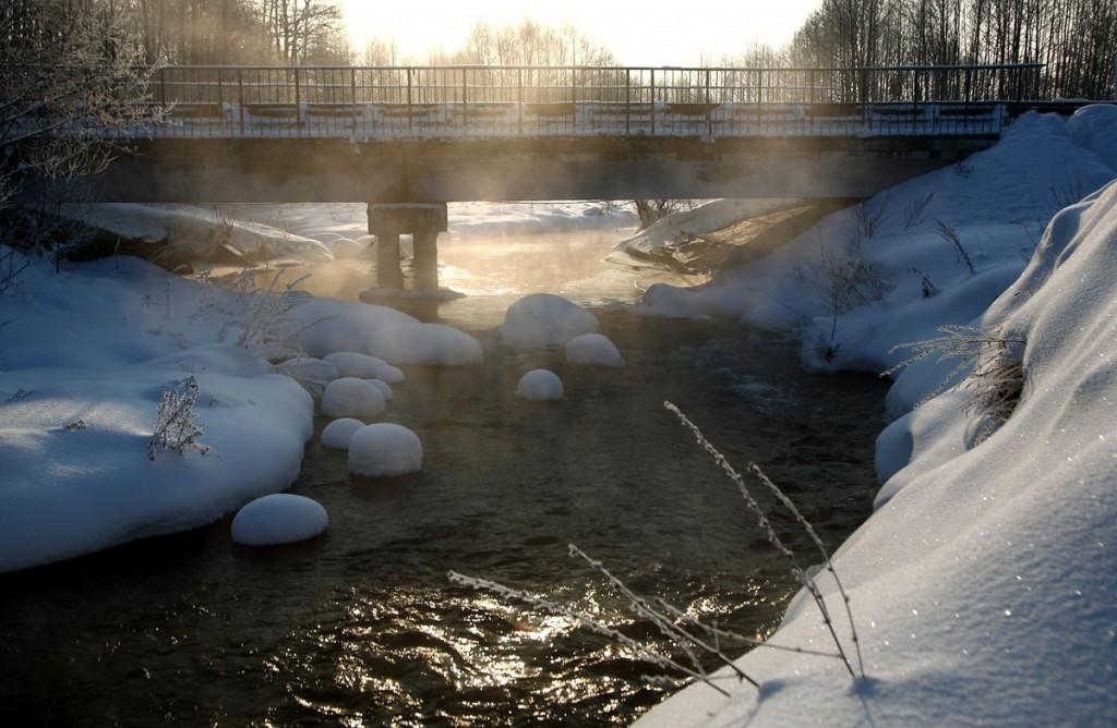 Сегодня на реке Нерехте в Ковровском районе 05