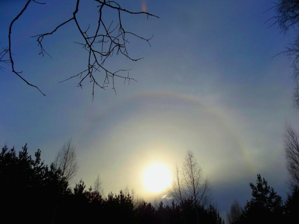 Солнечное гало 07 02 06 Вязниковский район