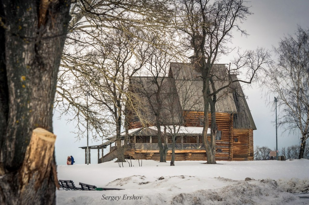 Февральский Суздаль. Фото Сергей Ершов 01