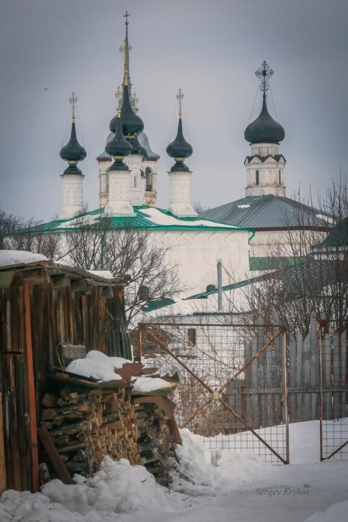 Февральский Суздаль. Фото Сергей Ершов 03