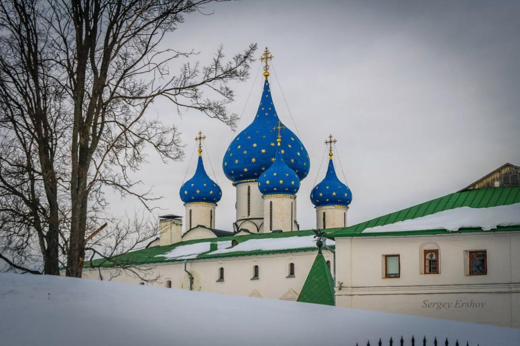 Февральский Суздаль. Фото Сергей Ершов 05
