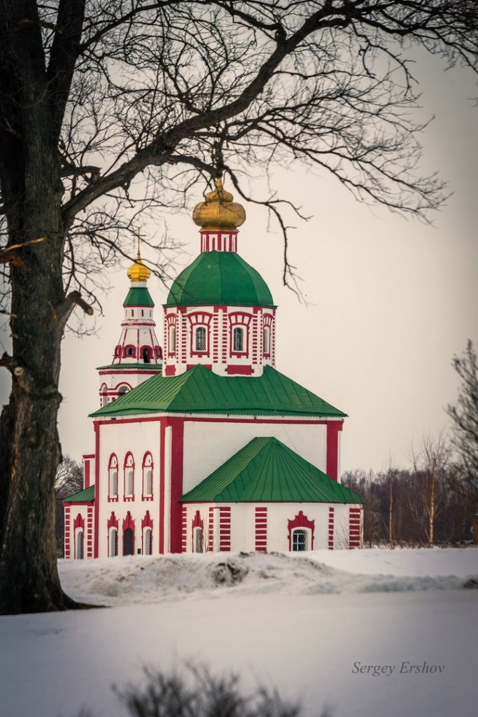 Февральский Суздаль. Фото Сергей Ершов 08