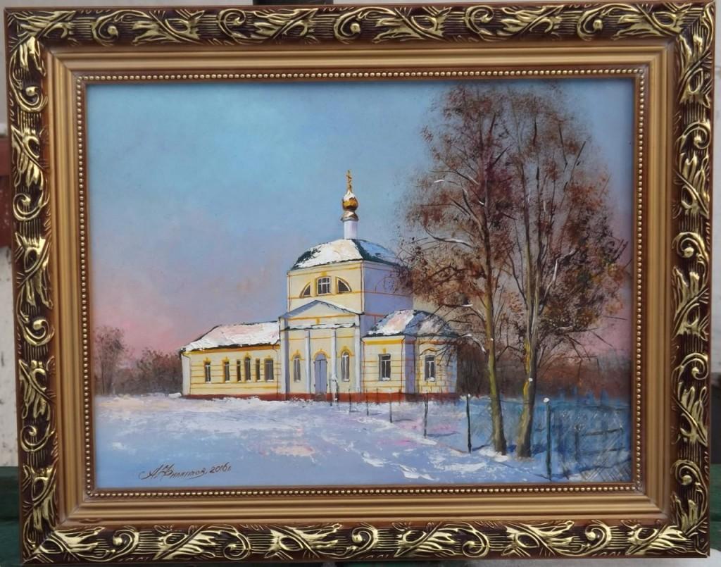 Храм Иоанна Богослова в с. Елох Александр Филиппов.