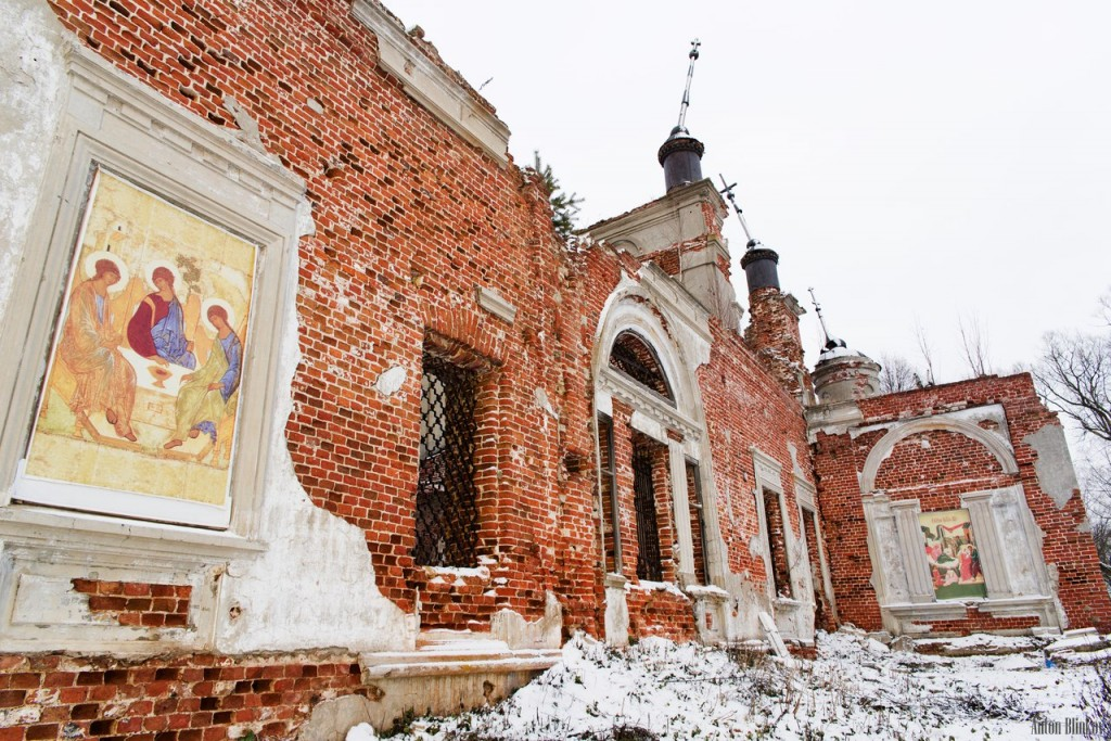 Храм Рождества Пресвятой Богородицы. Село Александрово, Судогодский р-н. 02