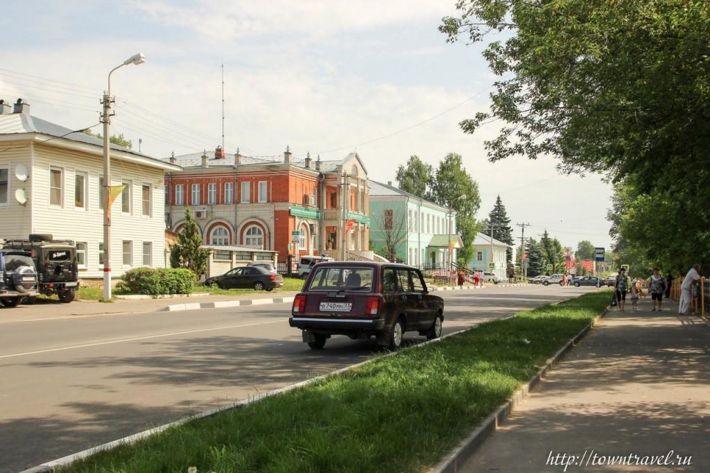 Центральная улица города Меленки — ул. 1 мая