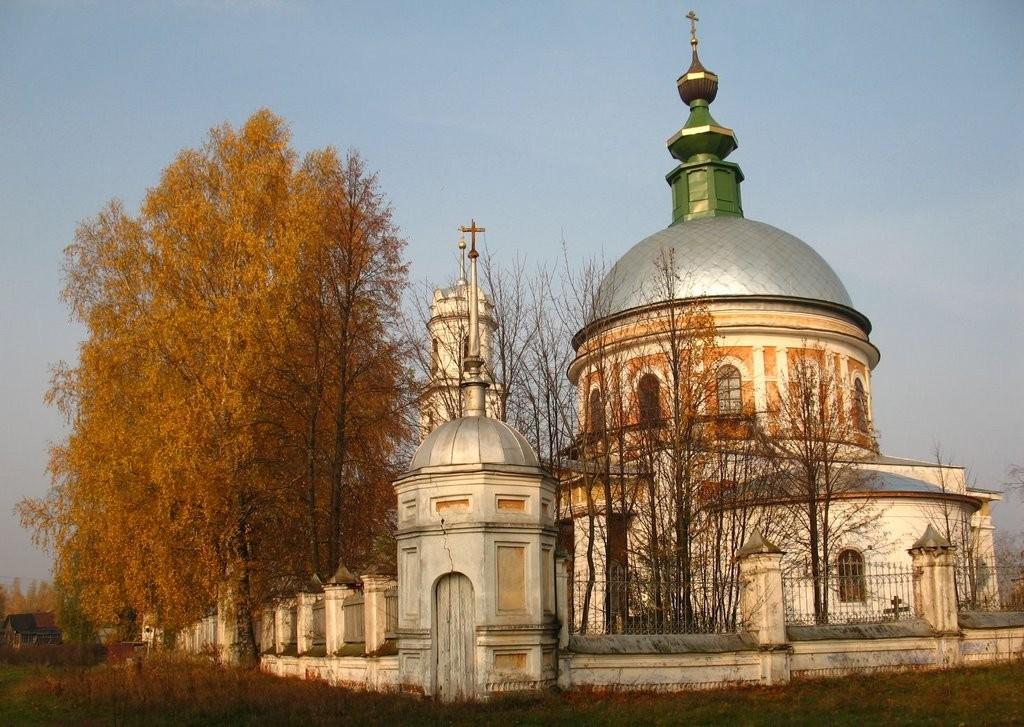 Церковь Илии Пророка (село Палищи, Гусь-Хрустальный район) 02