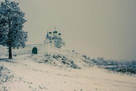 Чудесная зимняя Мстёра от Владимира Преснякова