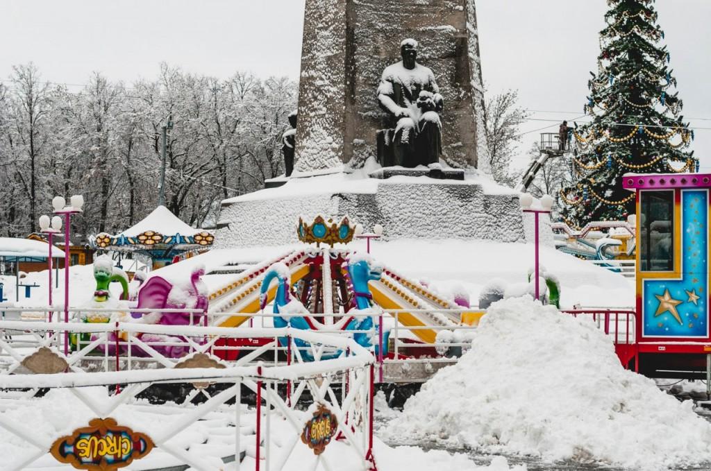 Январь во Владимире от Бориса Пучкова 10