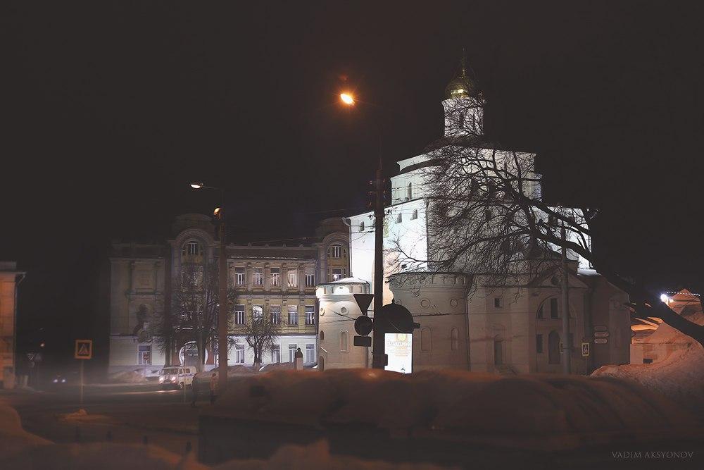 г. Владимир, февраль 2016 Золотые Ворота