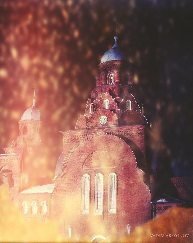 г. Владимир, февраль 2016 Крсная церковь